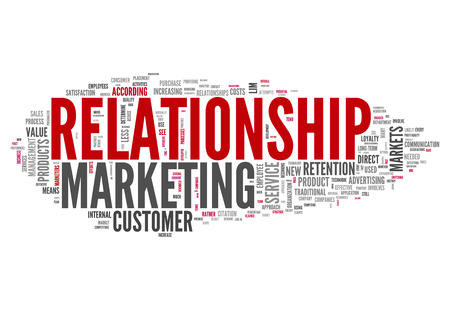 marketers: Word Cloud with Relationship Marketing related tags