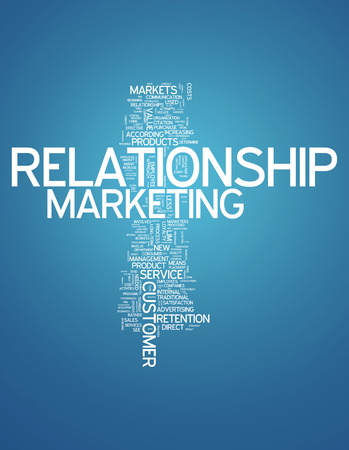 marketer: Word Cloud with Relationship Marketing related tags
