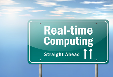 realtime: Highway Signpost with Real-time Computing wording