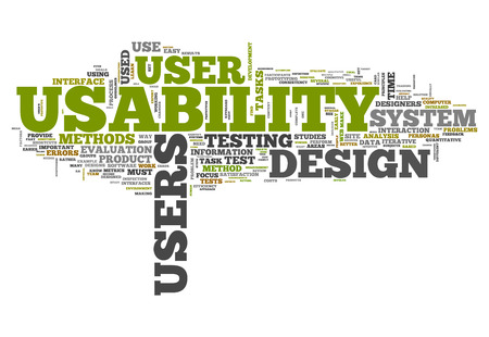 intuitive: Word Cloud with Usability related tags