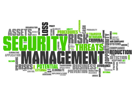 documentation: Word Cloud with Security Management related tags
