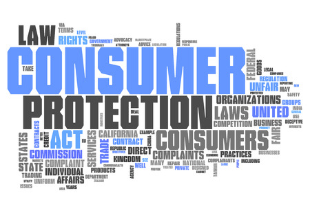 Word Cloud with Consumer Protection related tags