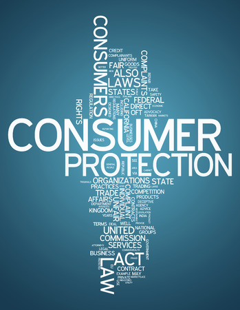 consumer: Word Cloud with Consumer Protection related tags