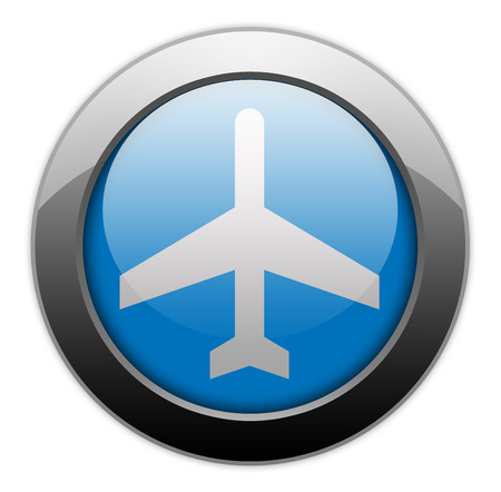 pushbuttons: Icon, Button, Pictogram with Airport symbol