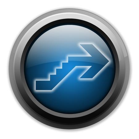 Icône, Bouton, pictogramme avec le symbole étage Banque d'images - 47785706