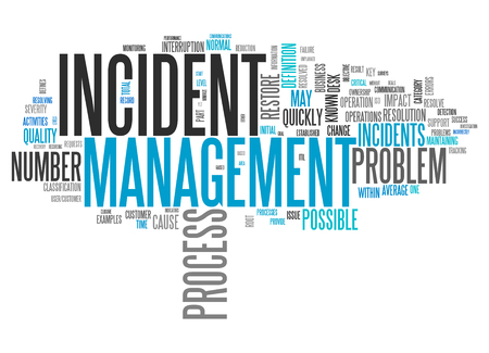 Wordcloud with Incident Management tags