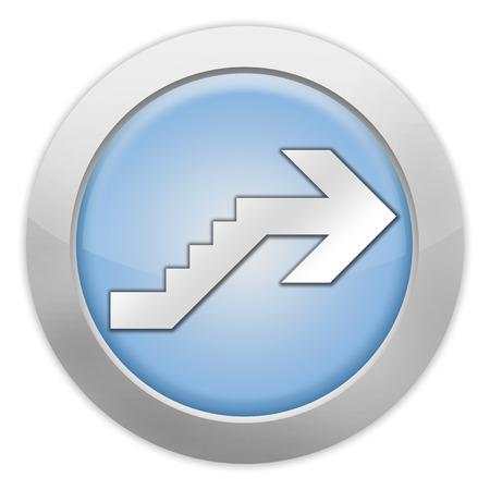 Icône, Bouton, pictogramme avec le symbole étage Banque d'images - 48207562