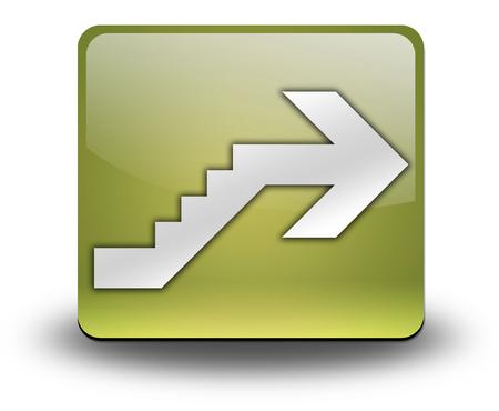 Icône, Bouton, pictogramme avec le symbole étage Banque d'images - 48207528