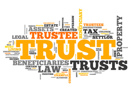 wordcloud: Wordcloud with Trust related tags