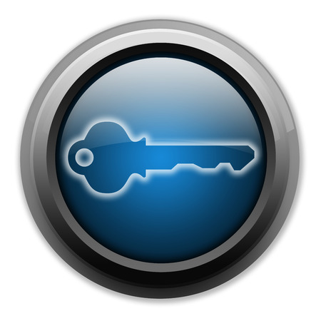 dongle: Icon, Button, Pictogram with Key symbol
