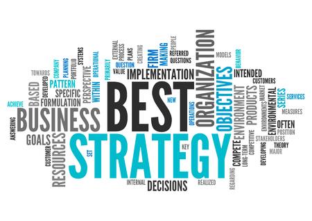 planeaci�n estrategica: Nube mundo con mejores etiquetas relacionadas con la Estrategia