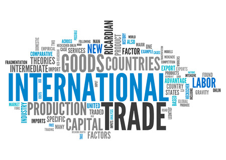 international trade: Word Cloud with International Trade related tags