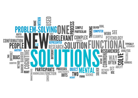 new solutions: Word Cloud with New Solutions related tags
