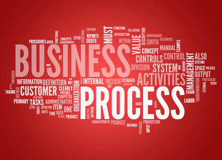 Word Cloud with Business Process related tags
