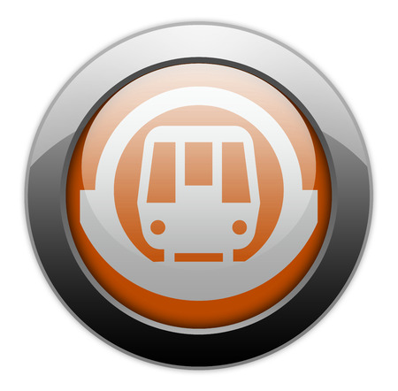 Icon Button Pictogram With Subway Symbol Stock Photo Picture And