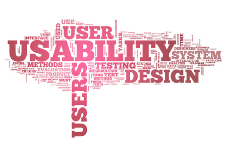 usability: Word Cloud with Usability related tags