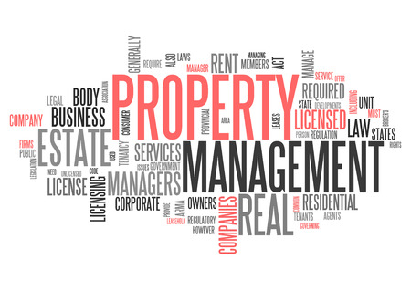 property management: Word Cloud with Property Management related tags
