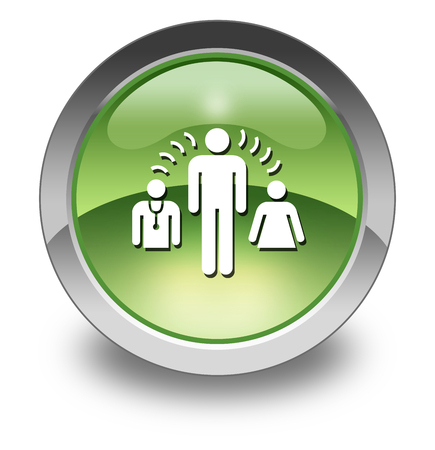 interpretations: Icon, Button, Pictogram with Interpreter Services symbol