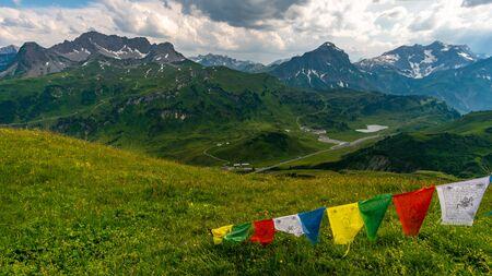 Beautiful mountain hike on the Great Widderstein in the Allg?u Alps in the Kleinwalsertal