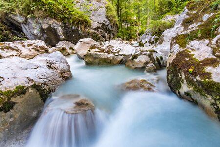 The wild and romantic magic forest near Ramsau near Berchtesgaden