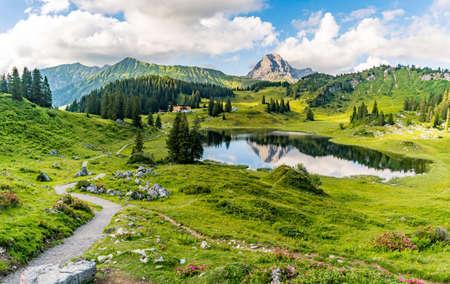 Fantastic hike in the beautiful Lechquellen Mountains - Warth-Schröcken - Bregenzerwald in Vorarlberg
