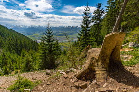 Fantastic hike on the Grunten in the Allgau via the Burgberger Hornle and the Starzlachklamm near Sonthofen, Immenstadt