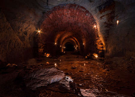 Mysterious cellars, tunnels and bunker systems in Germany deep underground