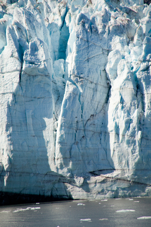 The Largest Remaining Glaciers Can Only Be Seen by Ship in Glacier Bay, Alaska Stock Photo