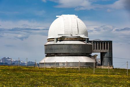 Assy-Turgen observatory secondary telescope Reklamní fotografie