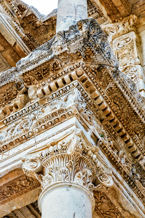 Ephesus was built in the 10th century BC, and continuously occupied until the 15th century AD. Editorial