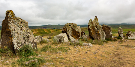 Stone circles in Armenia, created circa 6000 BC for astronomical observations