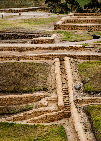 Inca Pirca is the oldest and most famous Inca ruins in Ecuador