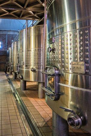 Mendoza, Argentina  Mar 2015 - Underground wine aging for the Bodega Catena Zapata winery
