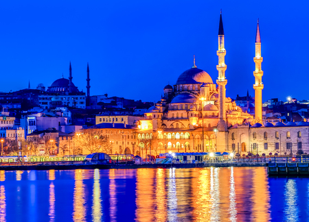 New Mosque in Istanbul, Turkey