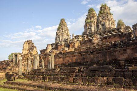Angkor Wat in Siem Reap, Cambodia old