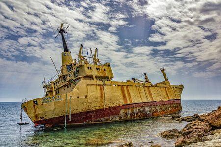 Edro III Shipwreck off coast of Cyprus