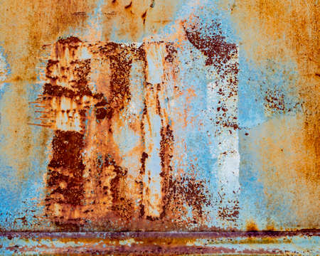 Background texture of rusted metal old displayed