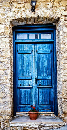 Colorful doors of Turkey are unique and fascinating