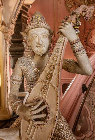 Statue of Imp God in Gangaramaya Temple in Colombo Sri Lanka.