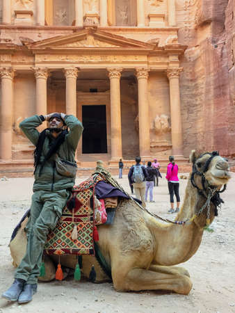 Petra, Jordan - 2019-04-21 - The Reveal is When The Treasury of Petra is First Seen.