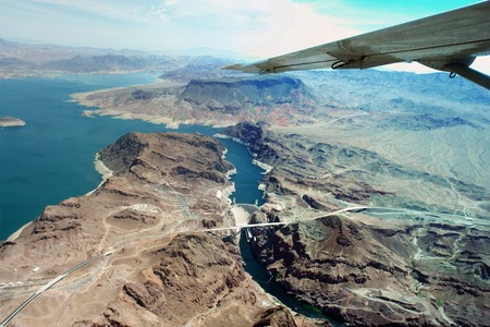 hoover dam: Hoover dam and Lake Mead