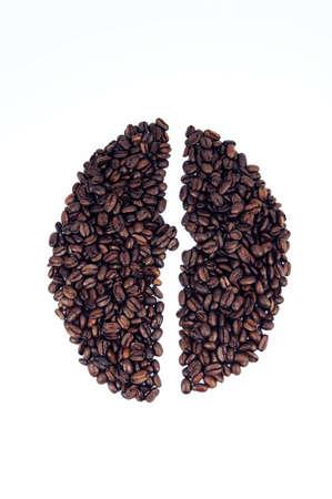 coffee beans shape