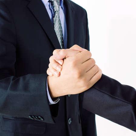 handshake business Stock Photo