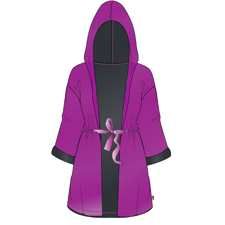 back belt: robe