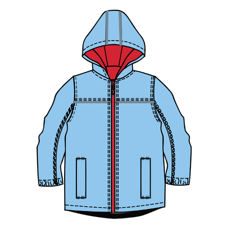 specification: vector illustration. boys clothes template.
