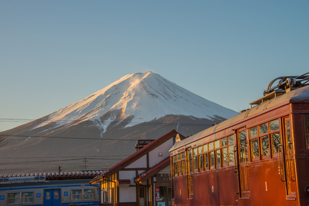 kawaguchi ko: Kawaguchi Ko station, Japan Dec 2014
