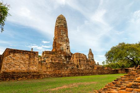 buliding: Ayutthaya, Thailand Aug 2015.
