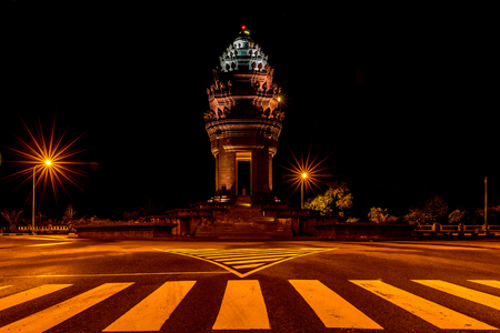 kap: Independence Monument  in Kap province Jun 2015 Editorial