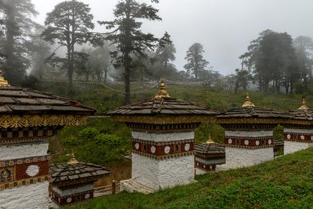 handcarves: Druk Wangle Chorten, Punakha province Bhutan 2015