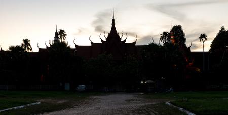 Royal Palace: Royal Palace Phnom Penh Cambodia Dec 2015